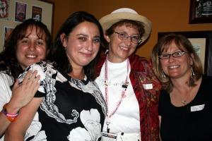 Paula, MAYA, Debby and Sudie